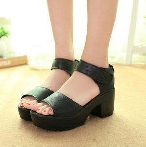 Platform Sandals High Heel Ankle Strap