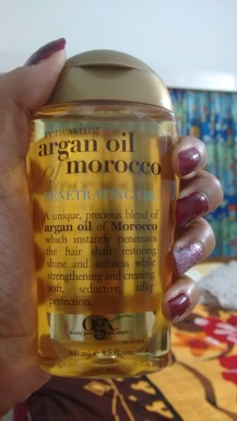 Argan oil for all hair types