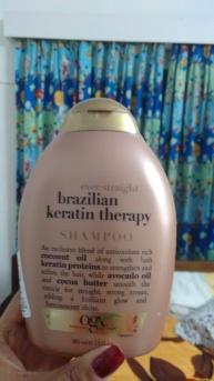 Brazilian keratin therapy shampoo