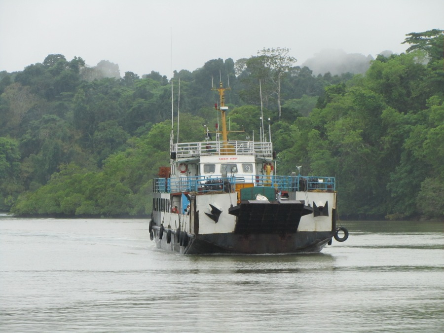 The vehicle ferry