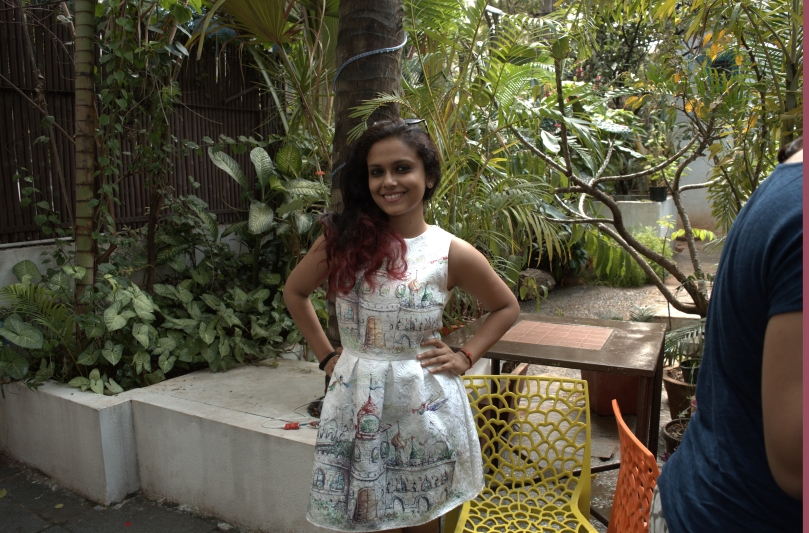 The pretty co-founder Aditi Rohan