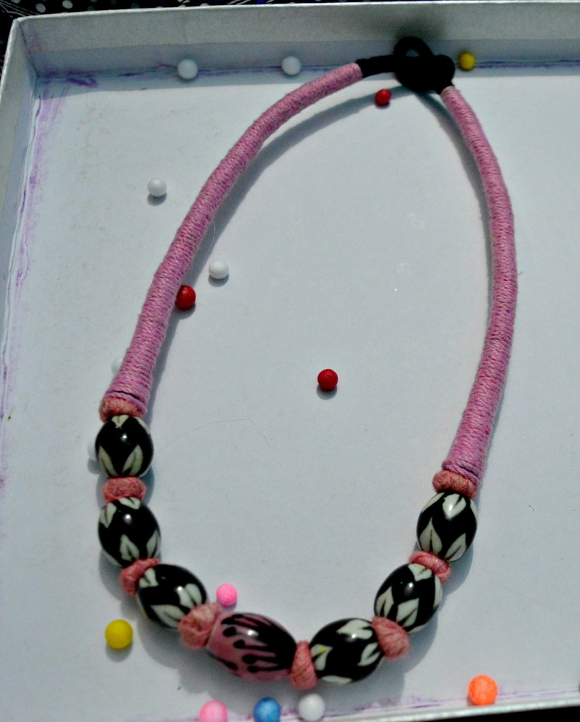 Handmade neck piece