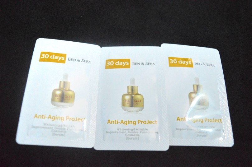 Ben&Sera 30 days anti-aging project serum