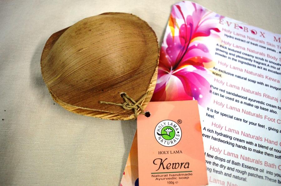 Kewra soap