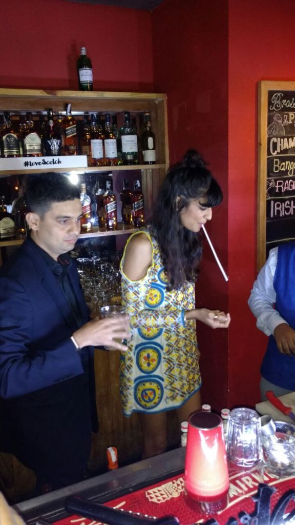#LoveScotch with Anushka Manchanda and Nakul Shenoy