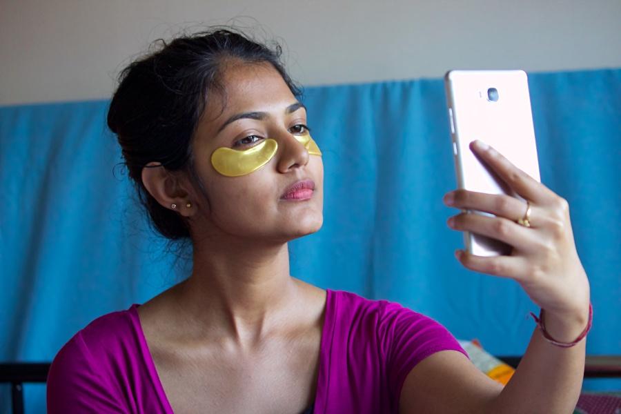 Lonvitalite 24K Gold & Collagen Eye Mask